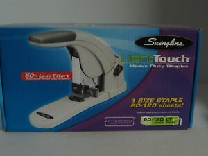 Swingline Light Touch Heavy Duty Stapler 90010 Staples 20 120 Sheets