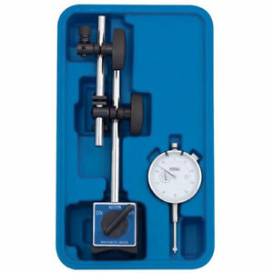 Magnetic Base With Fine Adjust And Dial Indicator Combo Lot Of 1