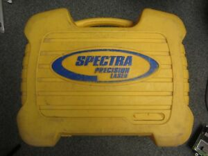 Spectra Precision Automatic Green Laser Level Hv301g In Hard Case works Great