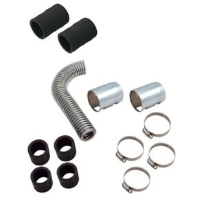 Spectre Magna Kool Ss Radiator Hose Kit W polished End Covers 12in Spe7770