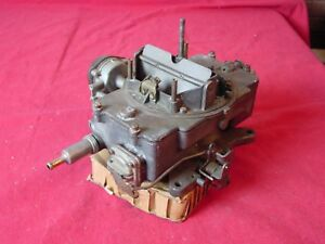 Ford 1964 65 Mustang Comet Autolite 4100 4 Barrel Carburetor c4gf Af 1 08 Bore