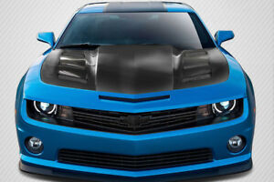 Carbon Creations Dritech Am s Hood For 2010 2015 Chevrolet Camaro