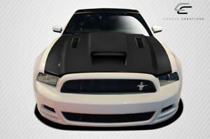 2013 2014 Ford Mustang 2010 2014 Mustang Gt500 Carbon Creations Cvx Hood