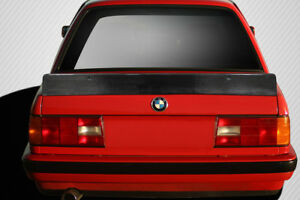 Carbon Creations Dritech Tko Rear Wing Spoiler For 1984 1991 Bmw 3 Series E30