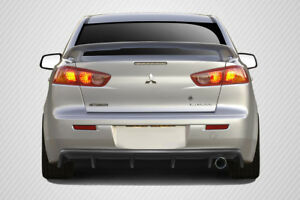 Carbon Creations M Power Rear Diffuser For 2008 2017 Mitsubishi Lancer 4dr