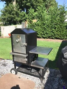Pitmaker Safe Bbq Smoker Fresh Paint And Door Seals