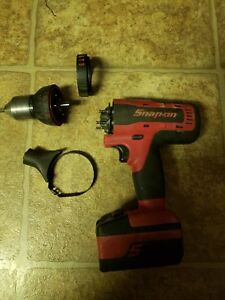 Snap On Cdr8850h 18v 1 2 Hammer Drill With Battery