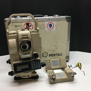 Pentax Pts 10 Electronic Total Station Untested Parts Only