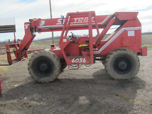 Skytrak 6036 Telehandler 36 Ft lift With Perkins Diesel 4x4