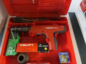 Hilti Dx 2 Power Actuated Fastening Tool With Case