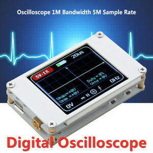 Dso188 Tft Color Ultra small 1mhz Digital Oscilloscope Voltage Frequency Tester