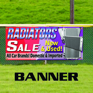 Radiators Sale New Used All Brands Indoor Outdoor Vinyl Banner Sign