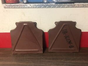 1941 Ford Car Front Fender Support Brace Panels Lh Rh Pair Nos 119