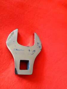 Snap on Usa 1 1 8 Crowfoot Open End Wrench 1 2 Drive Sco36 Newer Logo