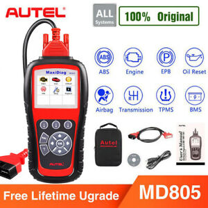 Autel Maxidiag Md805 Obd2 Code Reader Can Scanner Auto Diagnosis Better Md802 Us