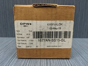 New Opw Kamvalok 1 1 2 Dn40 Disconnect Adapter 1677an ss15 gl Stainless Steel