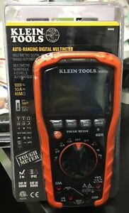 Klein Tools Mm600 Auto Ranging Digital Multimeter 1000v 10a 40m Brand New