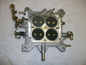 Holley 650 750 Cfm Double Pumper Base Plate Assembly