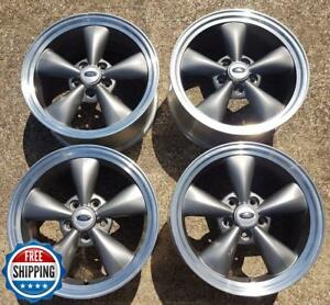 Ford 2005 2009 Mustang Factory Oem Wheel Set 17 Rims 3589 Charcoal S