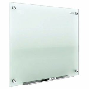 Quartet Glass Whiteboard Non magnetic Dry Erase White Board 4 X 3 Infinity