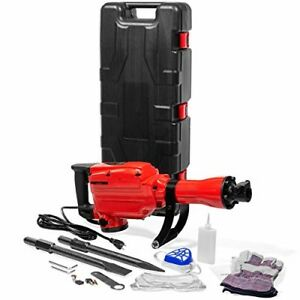 Xtremepowerus 2200watt Heavy Duty Electric Demolition Jack Hammer Concrete Break
