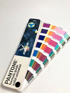 Pantone Formula Guide Solid Uncoated Set For Vanson Printing Inks V2100