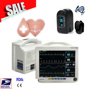 Icu Ccu Multi parameter Monitor Patient Monitor Cardiac Event Monitor W Gift Usa