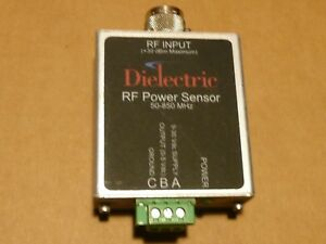Dielectric Rf Power Sensor 50 850 Mhz 30 Dbm