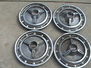 Chevy Ss Hubcaps 14in 1960 S Vintage Set Of 4