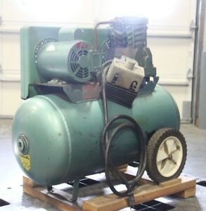Speedaire 3z419f 2hp 1 phase 230v Portable 20 gal Barrel Air Compressor Tank