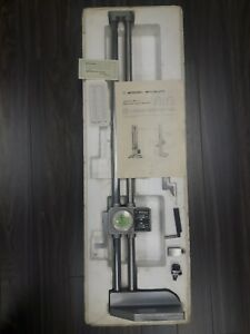 Mitutoyo Dial Height Gage 192 114 001 24 With Digital Counter