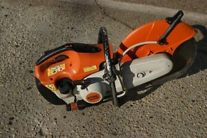 Stihl Ts420 Gas Powered Concrete Cut off Saw In Good Condition