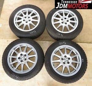 Jdm Speedline Corse Wheels Rims 5x100 Jdm Subaru Wheels