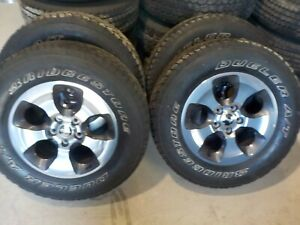 4 2017 Jeep Wrangler Jk 18 Grey Machined Wheels And Tires 2007 2018
