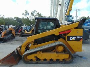 2016 Cat 299 d Turbo 2 Speed xps High Flow Enclosed A c Cab Power Coupler