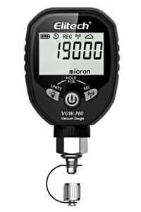 Elitech Vgw 760 Wireless Digital Vacuum Gauge Lcd Display App Control Micron