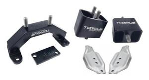 Torque Solution Solid Billet Engine Transmission Mounts W Mount Plates 02 14 S