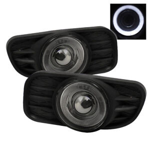 Spyder For Jeep Grand Cherokee 99 04 Halo Projector Fog Lights W Switch Smoke Fl