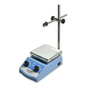 Joanlab Hs 12 Integrated Magnetic Stirrer With Analog Hot Plate 2 000ml
