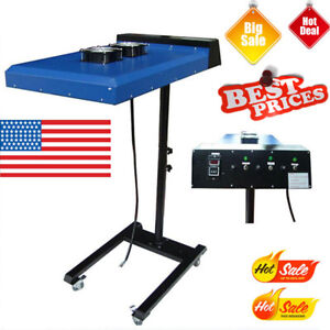 220v 6000w 20 X 24 Automatic Screen Printing Ir Flash Dryer With Sensor