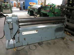 Reed Power Roll Bender Model 462 Initial Pinch