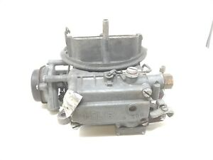1960 Amc Rambler Holley 3158255 List 2040 1 327 V8 2 Barrel Carburetor Carb