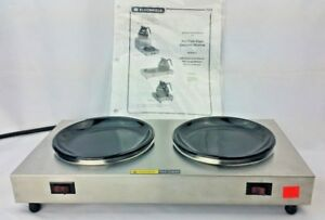 New Bloomfield 8852d Coffee Pot Warmer 2 station Stainless Steel