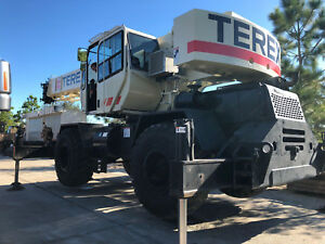 Terex Rt230 30 Ton Rough Terrain Crane 94 Boom Side Stowed Jib