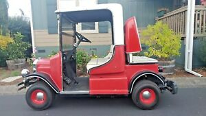 Model T Custom Golf Cart Utility Cart Electric One Of A Kind Great Condition