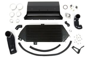 Grimmspeed Top Mount Intercooler W Thermal Coating For 2008 2014 Subaru Wrx