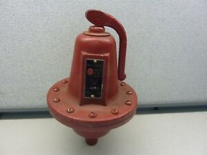 Bell gossett Simplex Relief Valve Set At 30 Lbs Tapping 3 4 20943