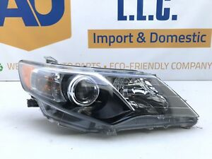 2012 2013 2014 Toyota Camry Se Right Headlight Assembly Oem 12 13 14 Passenger