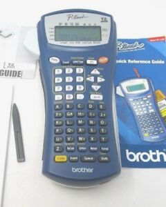 Brother P touch Pt 1400 Portable Thermal Transfer Label Maker Printer Tested Ok