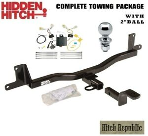Fits 2012 2017 Toyota Prius C Class 1 Trailer Hitch Package W 2 Ball